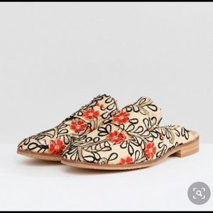 Free People Brocade Loafer (38size)